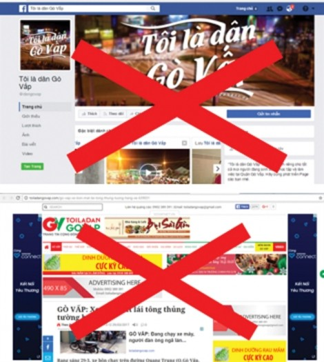 Nhan nhản các trang Facebook mạo danh cơ quan công quyền