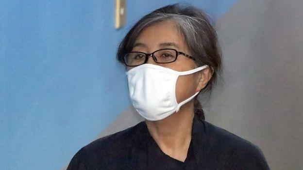 Ba Park Geun-hye tieu tuy trong phien toa lich su cung ban than