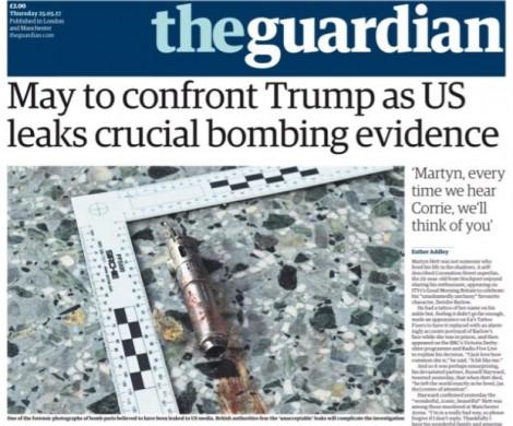 Vụ đánh bom Manchester: Mỹ trấn an Anh sau vụ lộ tin tình báo