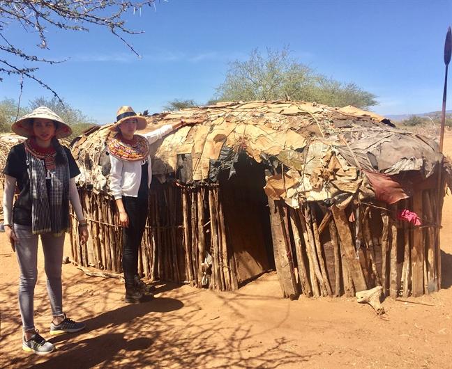Pham Huong, Le Hang xuc dong khi chung kien canh voi bi giet hai o Kenya