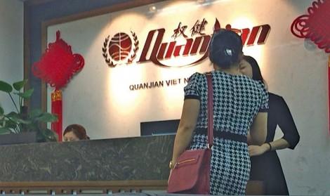 Công ty Trung Quốc đội lốt spa kinh doanh đa cấp