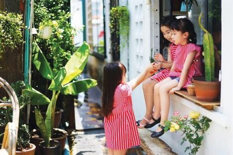 Bộ sưu tập sắc màu tươi tắn dành cho mùa hè của bé