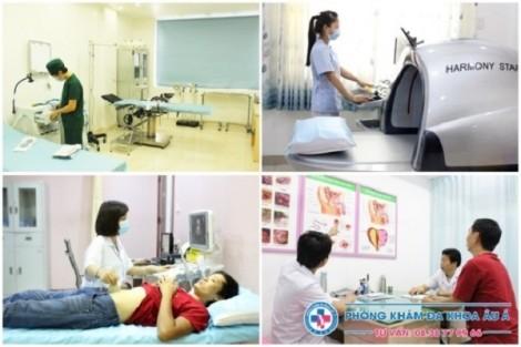 Dịch vụ khám chữa bệnh tiện lợi tại Phòng khám Đa khoa Âu Á