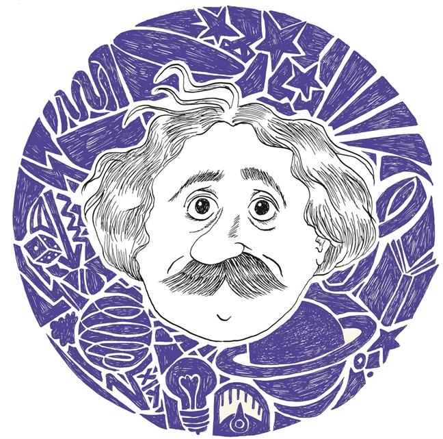 Moi dua tre - mot Einstein