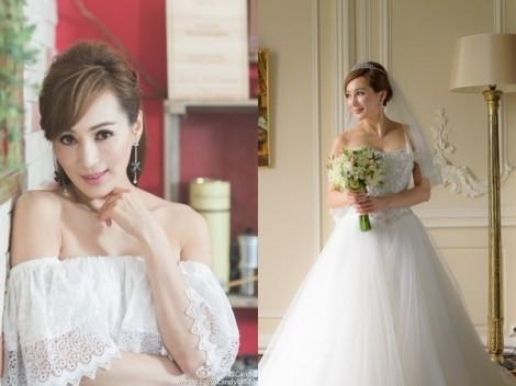 Hoa hậu Hồng Kông 51 tuổi kết hôn với bạn trai kém 20 tuổi