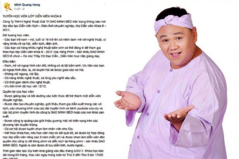 Sở VH-TT TP.HCM khuyên Minh Béo không nên biểu diễn