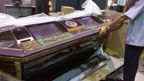 Hải quan Tân Sơn Nhất phát hiện vận chuyển máy đánh bạc qua đường hàng không