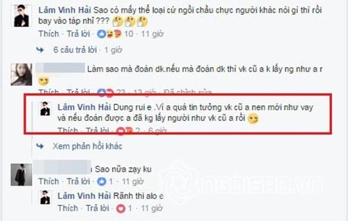 Lam Vinh Hai cong kich nguoi phu nu ay chi de bao ve hao quang cua minh?