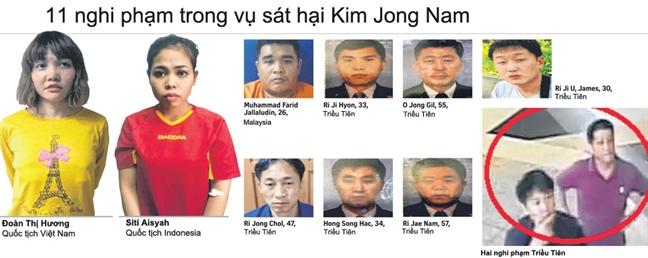 Vu Doan Thi Huong duoc chuyen len toa Thuong tham