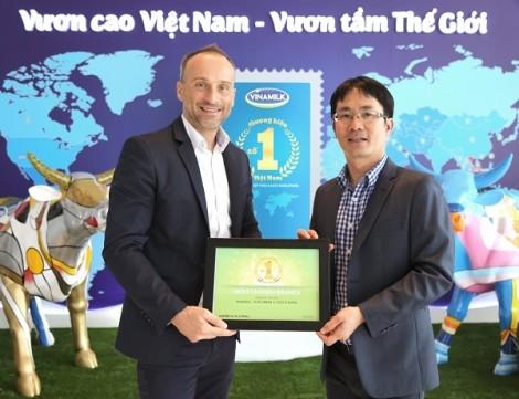 Vinamilk 3 năm liên tiếp nằm trong top những thương hiệu được bình chọn nhiều nhất ở Việt Nam
