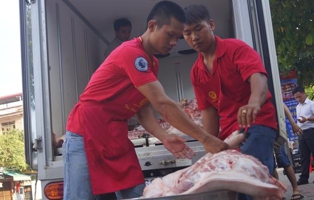 Trung uong Hoi lien hiep thanh nien tham gia giai cuu heo