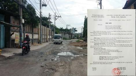 Dân bức xúc vì bị  'vận động' góp tiền tỷ  làm nửa cây số đường