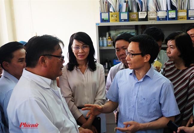 Tram y te va giac mo cua Pho Thu tuong Vu Duc Dam