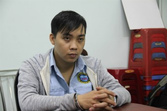 Bảo vệ Parkson Hùng Vương trộm số vàng hơn 700 triệu đồng