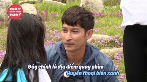 Huy Khánh đưa con gái nhỏ đến phim trường phim 'triệu đô' của Lee Min Ho