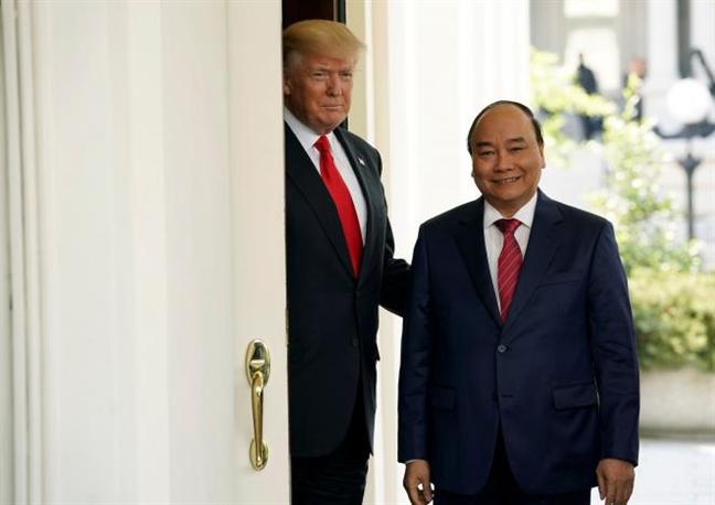 Thu tuong Viet Nam Nguyen Xuan Phuc tham Hoa Ky: Se mo ra co hoi thay doi  nen tang kinh te trong tuong lai