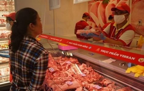 Vissan giảm giá thịt heo 42% trong 5 ngày