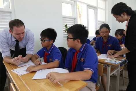 Học trường Việt với phương pháp quốc tế