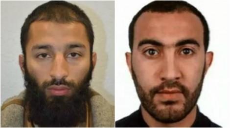 Hai trong ba kẻ tấn công là dân London