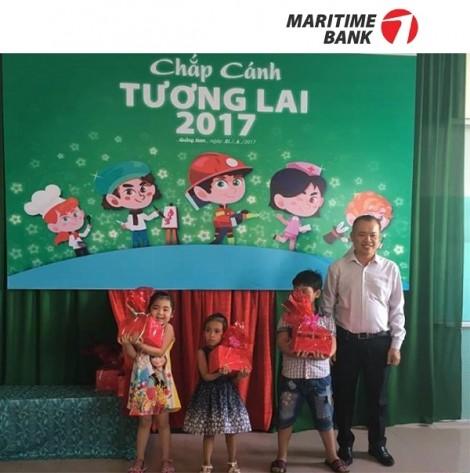 Maritime Bank trao 400 phần quà nhân dịp quốc tế thiếu nhi