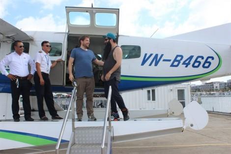 Đạo diễn Kong đưa đạo diễn Gozilla thăm Vịnh Hạ Long