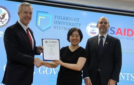 Hoa Kỳ tài trợ 15,5 triệu đôla cho ĐH Fulbright Việt Nam