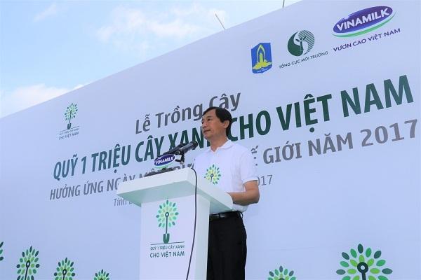 Quy 1 trieu cay xanh cho Viet Nam va Vinamilk trong hon 110.000 cay xanh tai Ba Ria-Vung Tau
