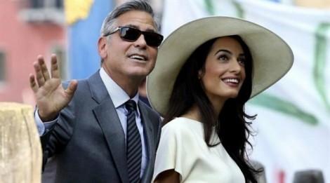 Tài tử gạo cội George Clooney chính thức làm bố ở tuổi 56