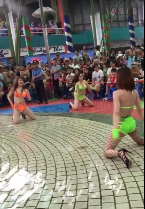 Sở VHTT TP.HCM đang xử lý vụ nhảy phản cảm ở công viên nước Đầm Sen