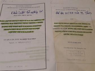 Nghiên cứu khoa học của thầy = copy và 'vay mượn' khóa luận sinh viên