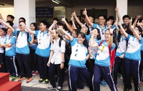 Trường Phổ thông Năng khiếu công bố điểm chuẩn tuyển sinh lớp 10