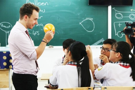Học sinh ngoại thành thụ hưởng chương trình giáo dục chuẩn quốc tế