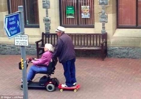 Ngọt lịm với những mối tình 'càng già càng say'