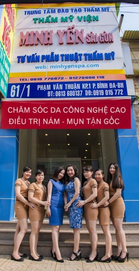 Làm đẹp công nghệ cao tại Minh Yến Spa