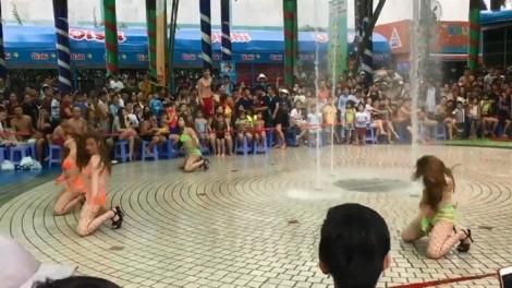 Vụ 4 cô gái nhảy phản cảm trước trẻ em: Công viên nước Đầm Sen bị phạt 45 triệu đồng