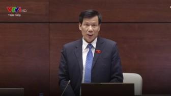 Bộ trưởng Nguyễn Ngọc Thiện vẫn 'chung chung' khi trả lời chất vấn