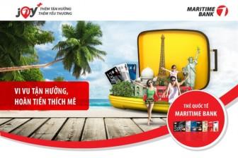 Ưu đãi đến 3 triệu đồng cho chủ thẻ Quốc tế Maritime Bank khi đi du lịch cùng Vietravel