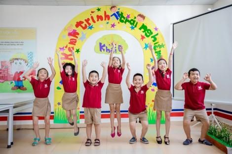 Trại hè Vinschool có nhiều hoạt động thể thao giúp học sinh vui chơi, rèn luyện thể lực