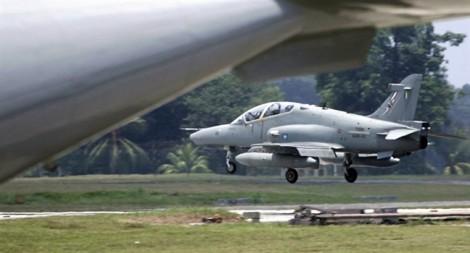 Máy bay chiến đấu của Malaysia mất tích