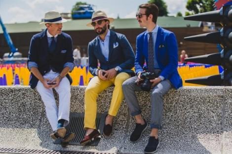 Khi quý ông làm điệu với vest nhiều màu sắc