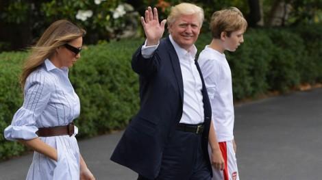 Ngày của Cha, Tổng thống Mỹ Donald Trump đi 'ở ẩn'