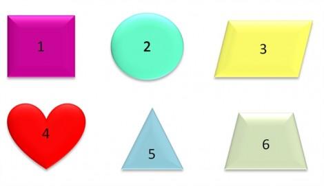 Đố vui: Hình nào khác trong 6 hình bên dưới?