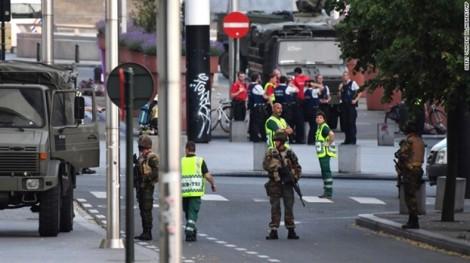 Tấn công khủng bố tại nhà ga ở Bỉ, nghi phạm bị bắn ngay tại chỗ
