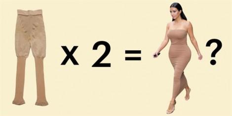 'Lật tẩy' mẹo mặc quần định hình giúp dáng thon từ Kim Kardashian