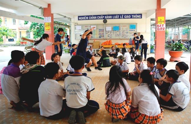 3 nam lien tiep to chuc hoi trai tieng Anh Nam Sai Gon