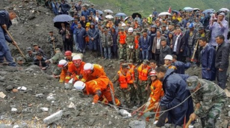 Hy vọng tan biến khi chưa tìm thấy 118 người mất tích ở Tứ Xuyên