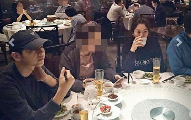 Bang chung hen ho cua Song Joong Ki, Song Hye Kyo duoc tung len dai truyen hinh Han Quoc