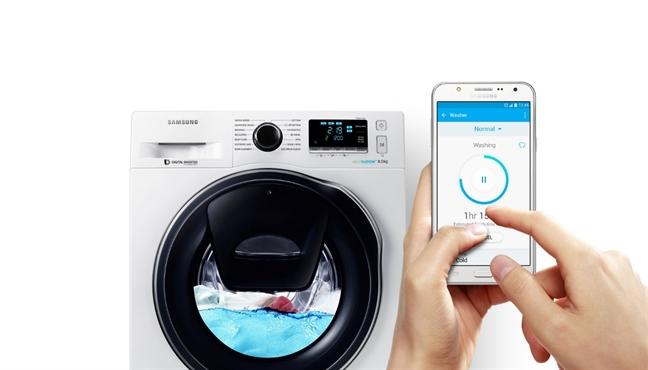 Samsung thang giai thiet ke danh gia hang dau chau A voi dong may giat cai tien