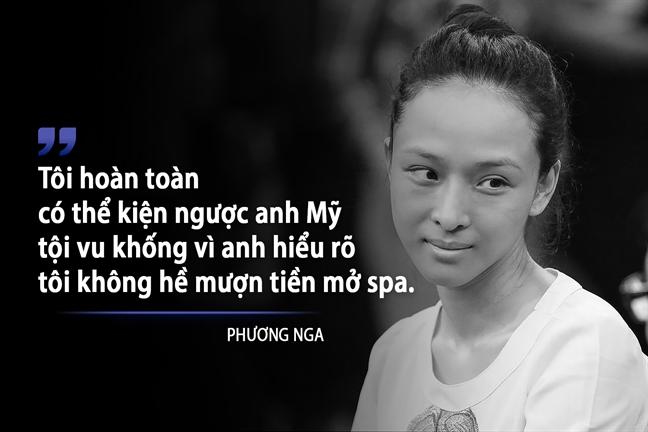 Nhin lai nhung lan 'bat tanh tach' cua Truong Ho Phuong Nga trong 4 ngay xet xu