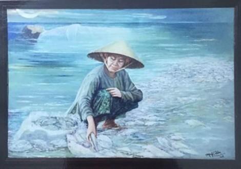 Vì sao bức tranh 'Biển chết' bị thu hồi?